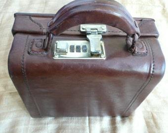 Genuine Calf Leather woman top handle bag,
