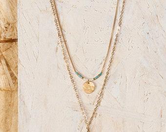 NARAYANA double necklace