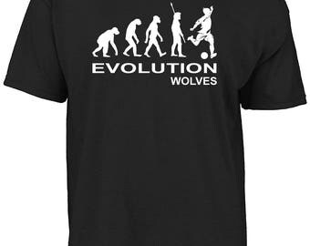 Wolverhampton - Evolution Wolves t-shirt