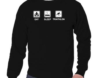 Eat Sleep Triathlon Sweatshirt