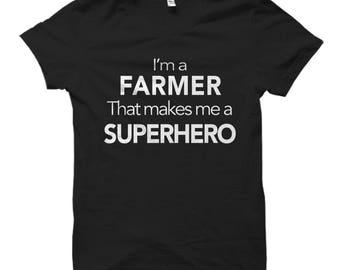 Farmer Shirt for Farmer Gift for Farmer Gifts Farming Shirt Farmer Dad Shirt Farmer Dad Gifts for Farmers Farmers Shirt Farmer Husband Shirt