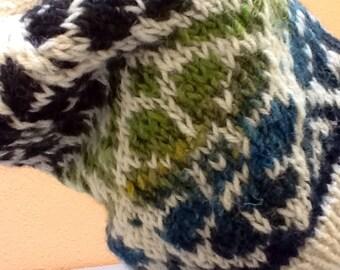 Slouchy Handknit hat
