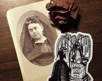 Weeping widow antiques sticker!!!