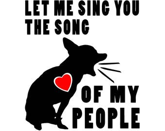 The Song Of My People Chihuahua Vinyl