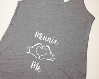 Minnie me tank top