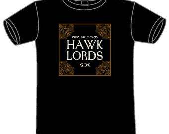 Medium Hawklords SIX Tour 2017 T-Shirt