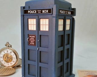 NEW   13th Doctor's TARDIS inspired Ring Box