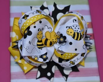 Bumble Bee Bow