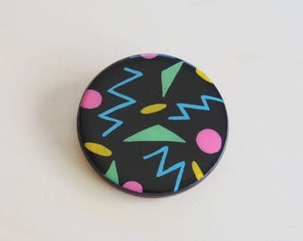 Handmade Resin Brooch | Contemporary Wearable Art