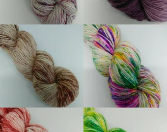 Christmas Yarn - Variety of Colourways