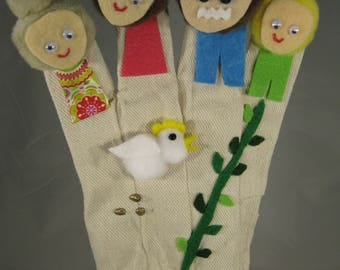 Jack & the Beanstalk Glove Puppet