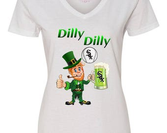 White Sox Irish Shirt, Irish Sox Shirt, Dilly Dilly Sox Shirt