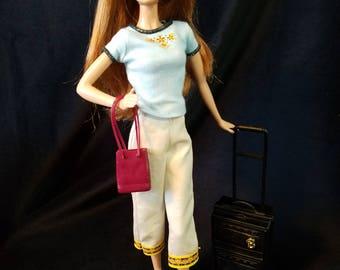 Gulf Getaway  Fashion Set for Barbie/Vintage/Silkstone/Model Muse/Fashion Royalty Dolls