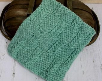 knitting pattern baby afghan blanket nursery afghan pattern KP388
