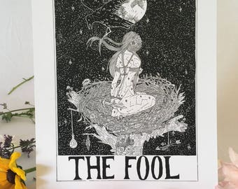 Tarot Card Print • 'The Fool' • By Madison Ross