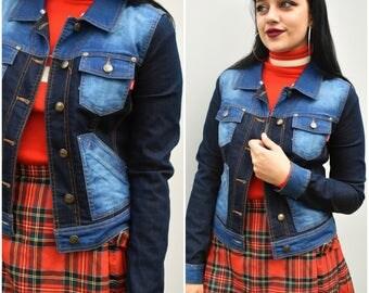 Vintage denim 90's jacket