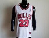 Stitched Chicago Bulls Michael Jordan Nike Jersey Sz. S