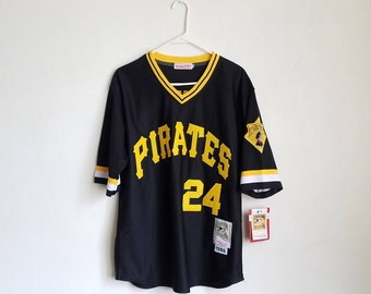 DS Mitchell And Ness Barry Bonds Pittsburgh Pirates Jersey Sz. 40