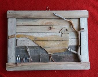 Handmade wooden Pheasant (Hen) picture