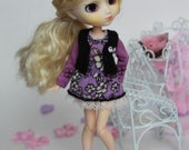 AZONE Picco Neemo 1/12 doll lilac color outfit.