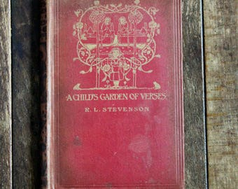 A Child's Garden of Verses by Robert Louis Stevenson, Illustrated by Charles Benson