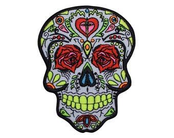 Day of the Dead Patch - Dia de los Muertos Mexican Holiday
