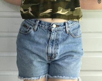 VINTAGE 90s Calvin Klein Denim Shorts