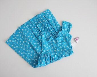 90s floral dress   bright blue dress   pin up floral dress