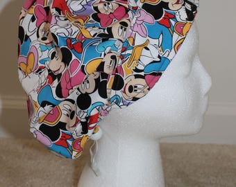 Mickey Mouse & Friends Bouffant Scrub Hat