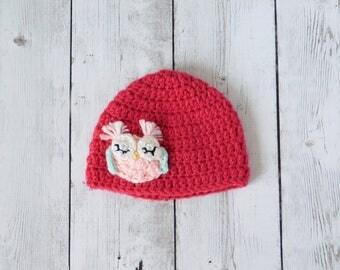 Owl beanie - owl hat - owl baby hat - owl baby - owl prop - owl baby gift - owl gift -owl accessory - baby owl hat - owl baby shower gift