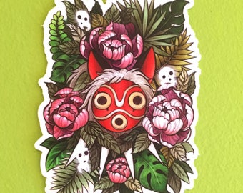 Mononoke vinyl sticker