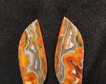 Multi color  agate cabochon