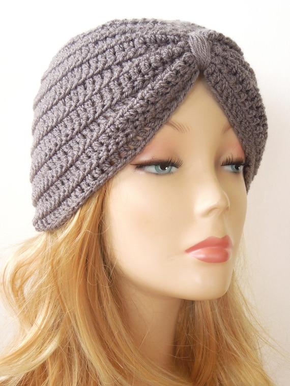 Turban Hat Crochet Pattern, Head Wrap, Turban Headwrap, Turban Hat ...