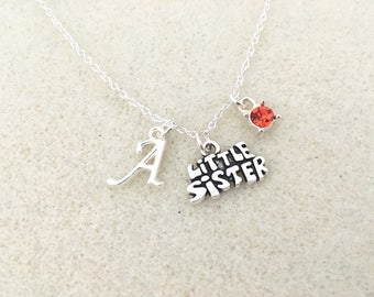 SALE! Little sister necklace personalized gift for little sister gift little sister birthday unique gift for sister gifts birthday
