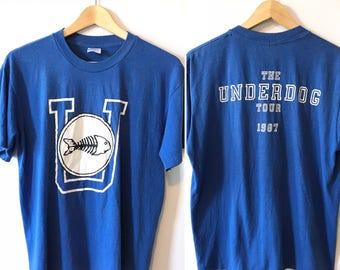 Vintage 1987 Fishbone Tshirt • Underdog Tour