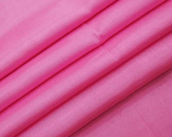 "Pink Wedding Fabric, Dupioni Silk, Dressmaking Fabric, Home Accessories, 44"" Inch Shantung Fabric By The Yard ZSH3G"
