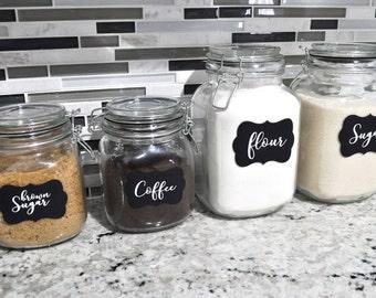 Kitchen Pantry Labels
