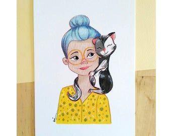 Cat Lover (A5)