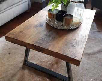 Rustic Reclaimed Coffee Table (Handmade UK)