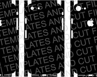 Iphone 7 Skin template for cutting or machining - Digital Download - For plotters, CNCs, Laser cutters, Silhouette Cameo, Cricut, etc