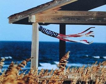Flag Windsock- Photograph