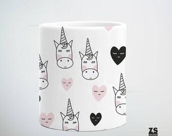 Taza con diseño de unicornios, regalo de Navidad, regalo para ella, regalo para él, regalo para suegros, regalo para tía, regalo maestros
