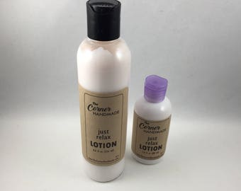 Just Relax Lotion, Body Lotion, Body Cream, Hand Lotion, Face Cream, Moisturizing Lotion, Hand Cream, Dry Skin Cream, Home Made Lotion