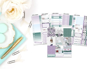 Cozy Winter Collection-Erin Condren Horizontal Planner Stickers
