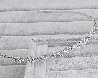 Bridal Headband, Crystal Bridal Headband, Wedding Headband, Rhinestone Headband, Bridal Jewelry, Bridal Hair Comb, Wedding Hair Accessories