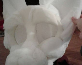 Simple Fursuit foam head base. Any species! Made to order!