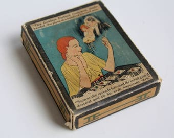 1920s Fortune Telling Cards - Vintage Hesse Fortuna Picture Cards - Vintage Tarot Occult Oddities