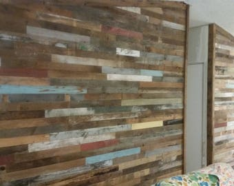 DIY Barnwood Accent Wall Easy To Install Wall Boards