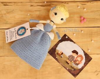 Cinderella Princess Plush Doll Disney Princess Disney inspired Plush Doll Gift Girl Baby Shower Gift Crochet doll christmas gift design