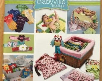 Babyville Boutique Essentials Made Easy book  by Dritz